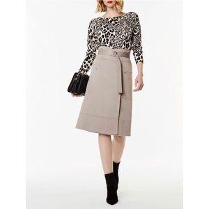 Karen Millen Wrap Skirt sz 4 New
